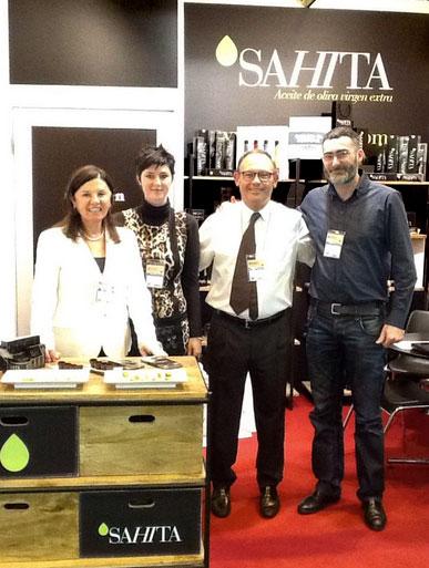 Gran acogida de La SA<i>HI</i>TA en la XXIX edición del Salón de Gourmets.